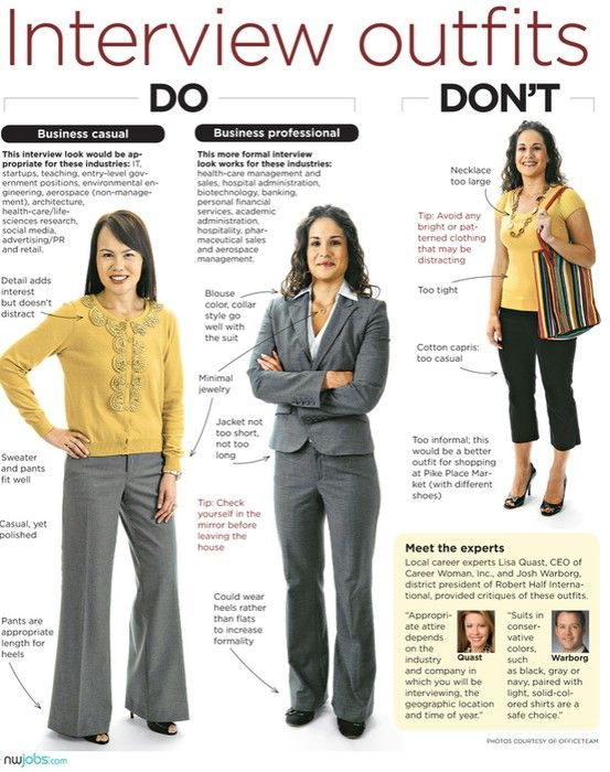 How To Dress For A Job Interview With Style   JOB INTERVIEW