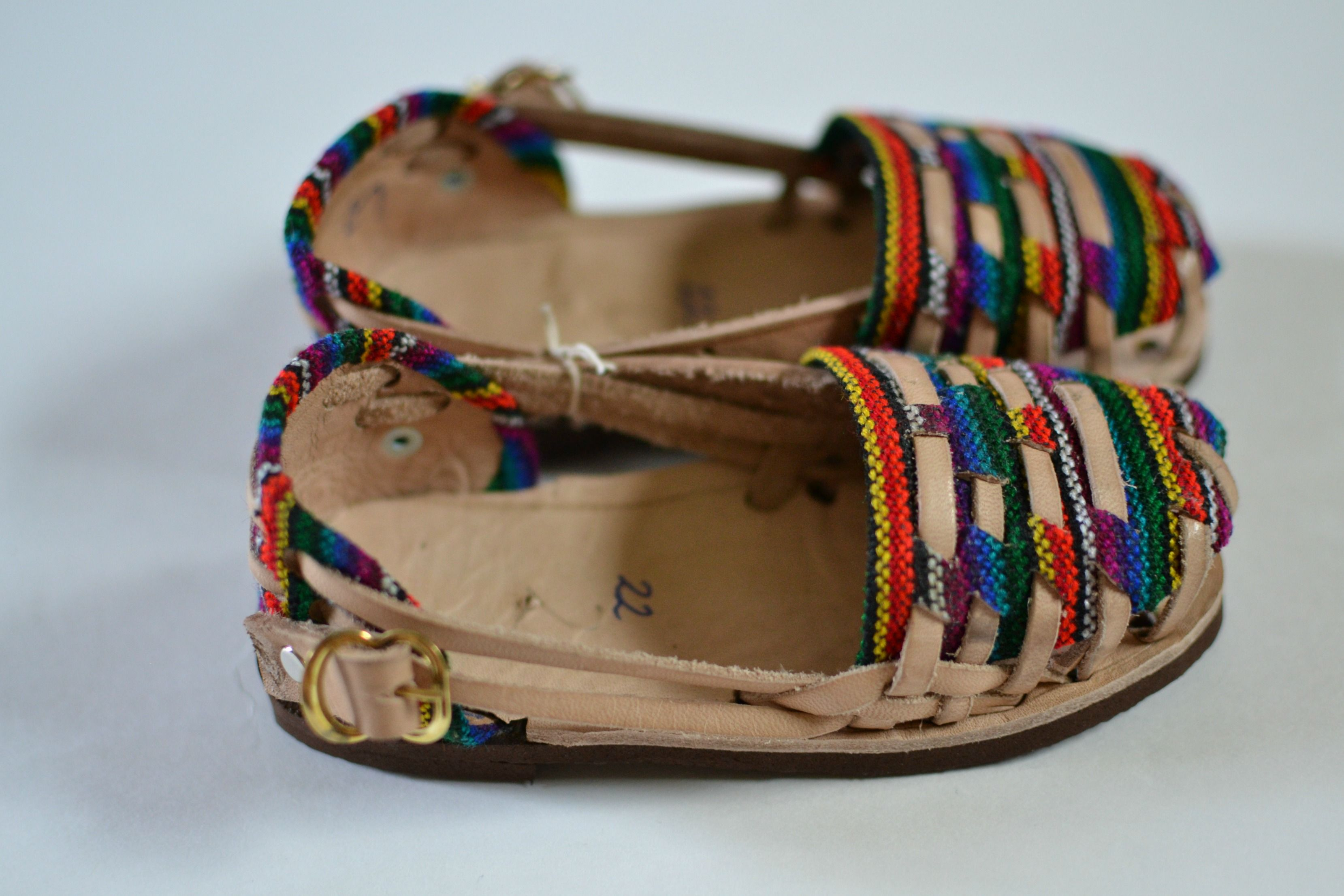 a381d30edae4 Authentic caites huaraches handcrafted by artisans in Guatemala.