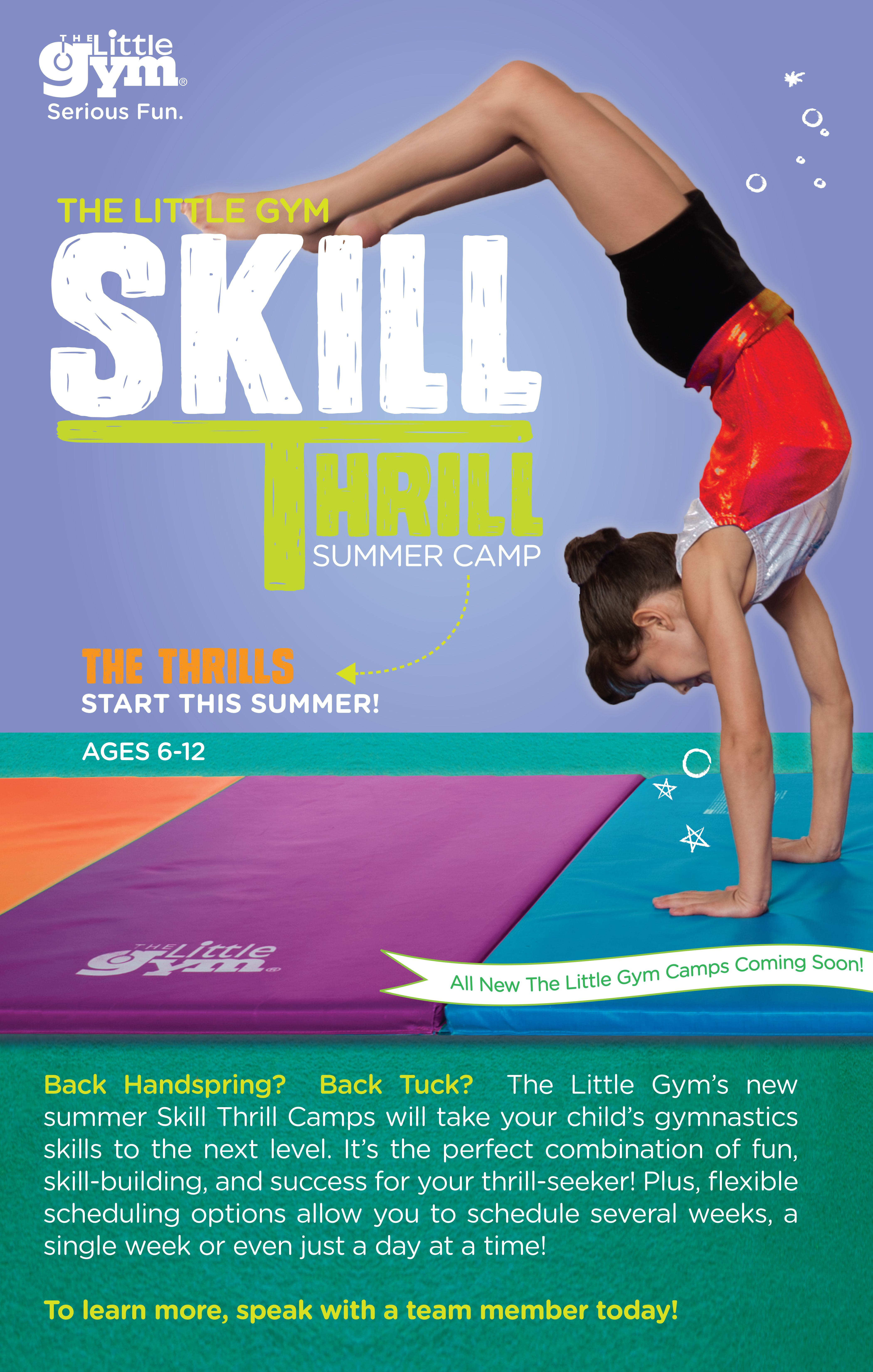 Is Your Grade School Child Ages 6 12 Years Excited And Eager To Finally Learn Or Perfect A Cartwheel Handstand Back Summer Camp Skills Camping With Kids