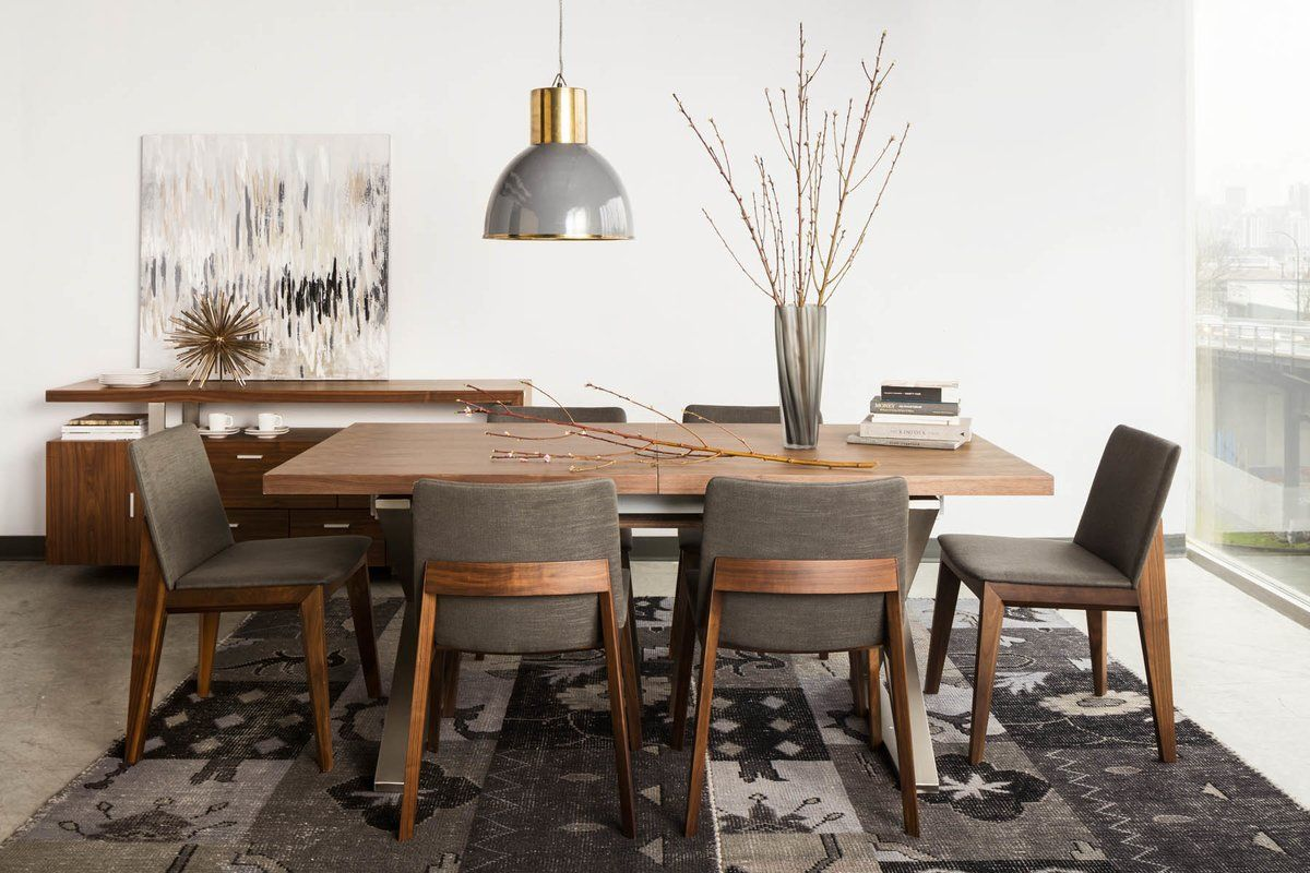 Parsons Chair Dining Chairs Modern Dining Room Rectangular Dining Table