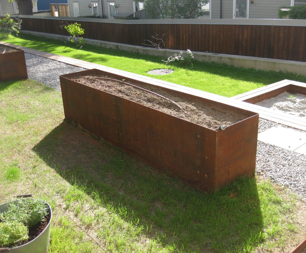 EverEdge: EverEdge made-to-order steel planter 1 of 4 | donica ...