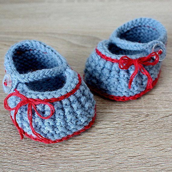 Bebé zapatos de estambre hilo de peso PDF por loasidellamaglia ...