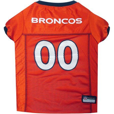 a7bd0d9d4 Pets First NFL Denver Broncos Pet Jersey
