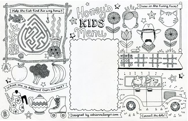 Yeti ice cream restaurant coloring pages - Hellokids.com | 419x650
