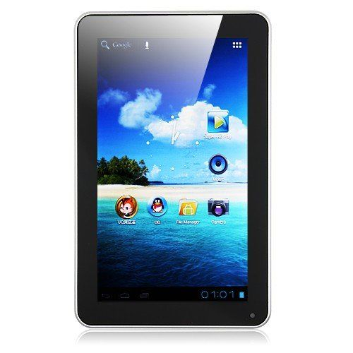SoXi X10 Fashion MID Tablet PC 9 Inch Android 4.0 8GB Color White