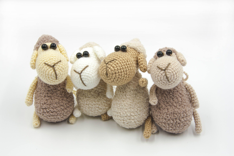 Amigurumi sheep plush toy pattern - Amigurumi Today | 2000x3000
