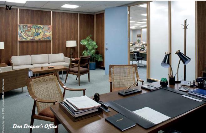 Mad Men Office Beauteous Don Draper's Office Season 13 Mad_Men Courtesy Eldestandonly Inspiration