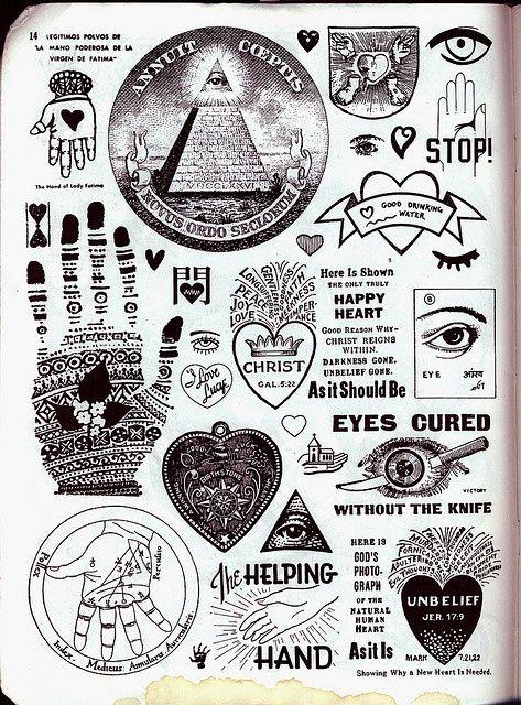 Crap hound 5 16 illuminati symbols and illuminati a collection of the illuminati symbols notice many heart symbols are incorporated with other occult symbols such as one eye mad of miriam kabbala malvernweather Gallery