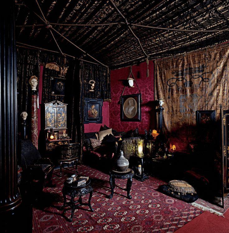 Gothic bohemian decor #gothic #bohemian #decor , gotisches ...