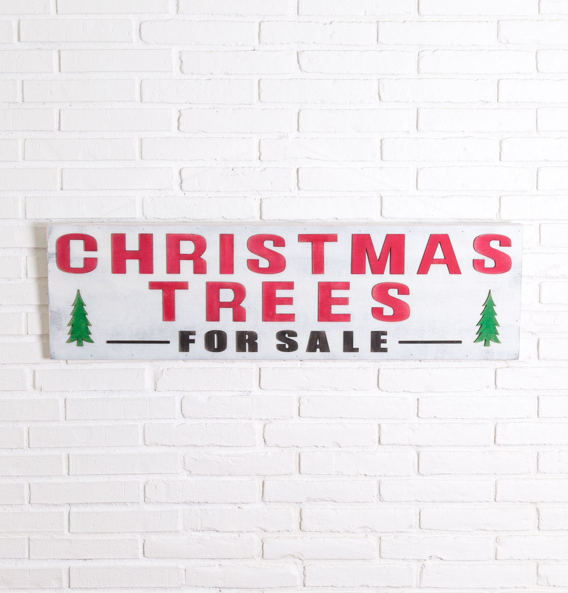 Christmas Trees For Sale Sign - Magnolia Market | Chip & Joanna ...