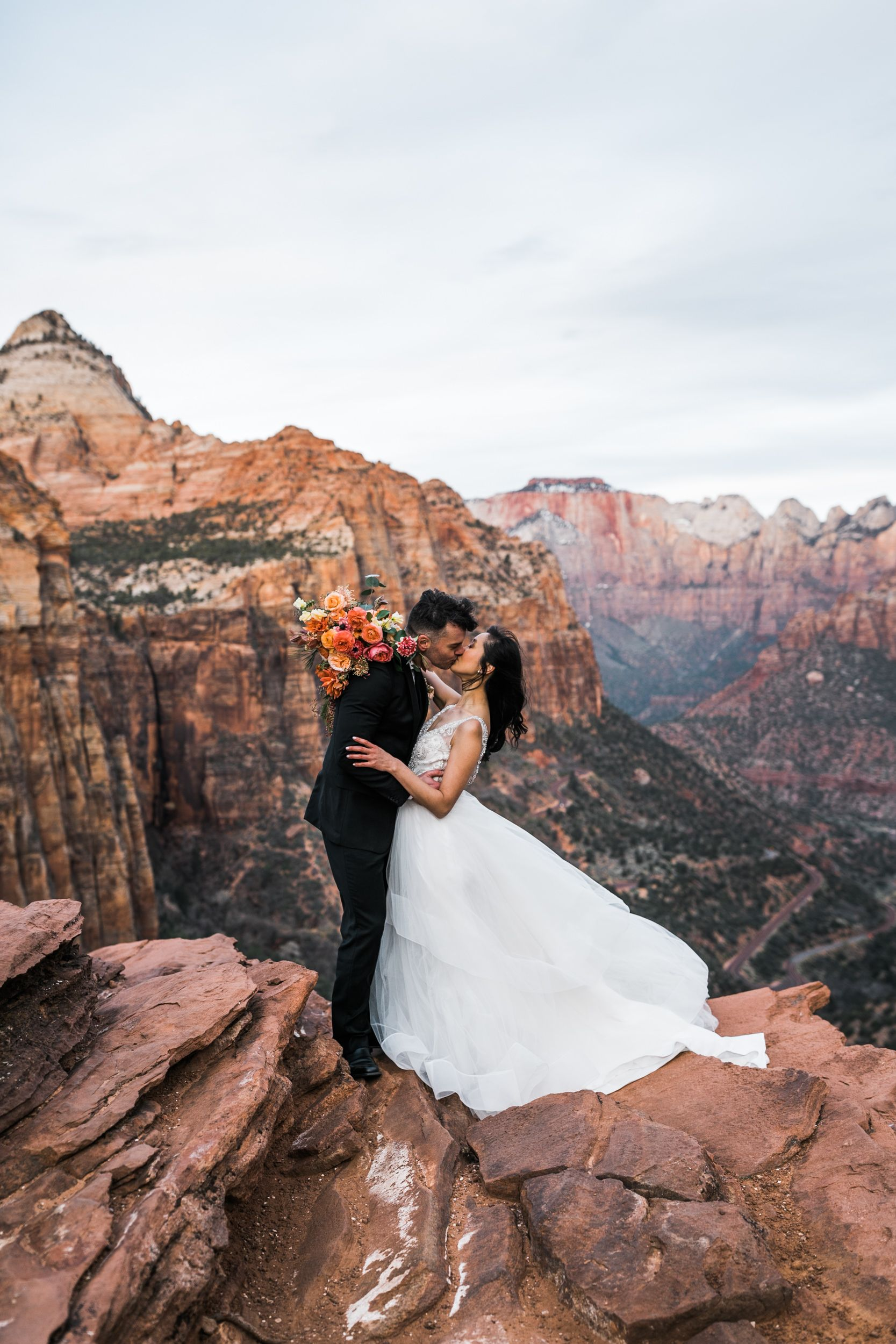 Zion National Park Elopement Utah Adventure Wedding Inspiration Adventure Wedding Elopement Photographers In Moab Yosemite And Beyond The Hearnes National Park Wedding Adventure Wedding Elope Wedding