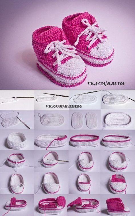Der Neue Пинеточки для деточки Erfahren Sie mehr über Babys #crochetbabyshoes
