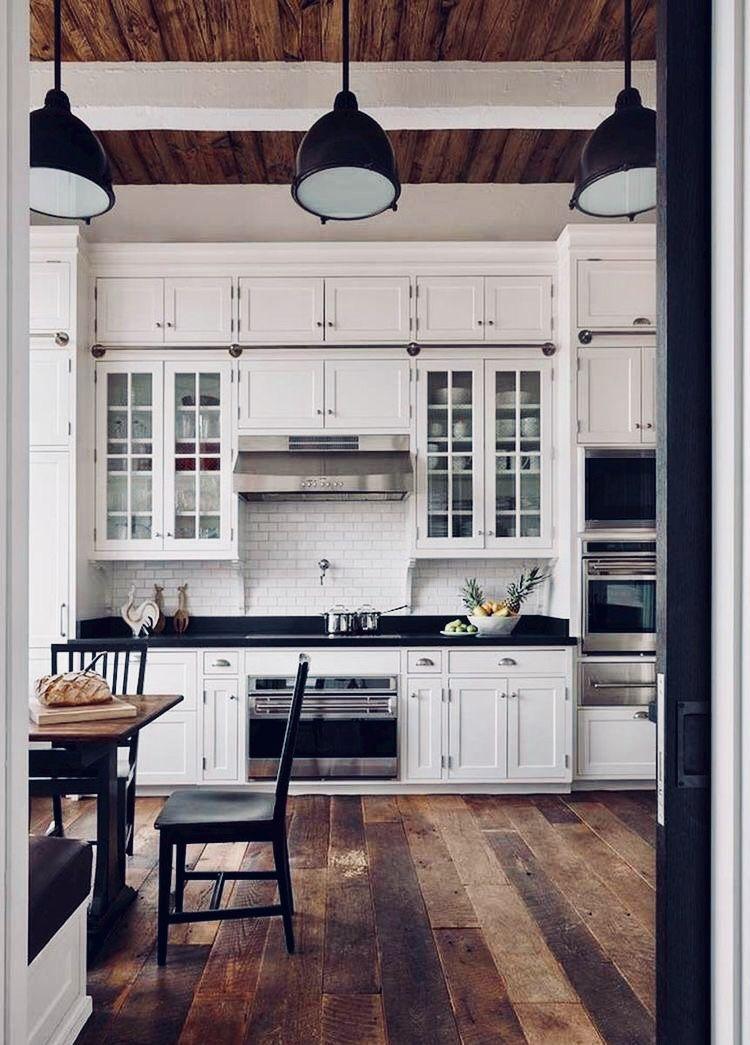 Pinterest Bailey Degroot Farmhouse Kitchen Design Rustic Farmhouse Kitchen Kitchen Cabinets Decor