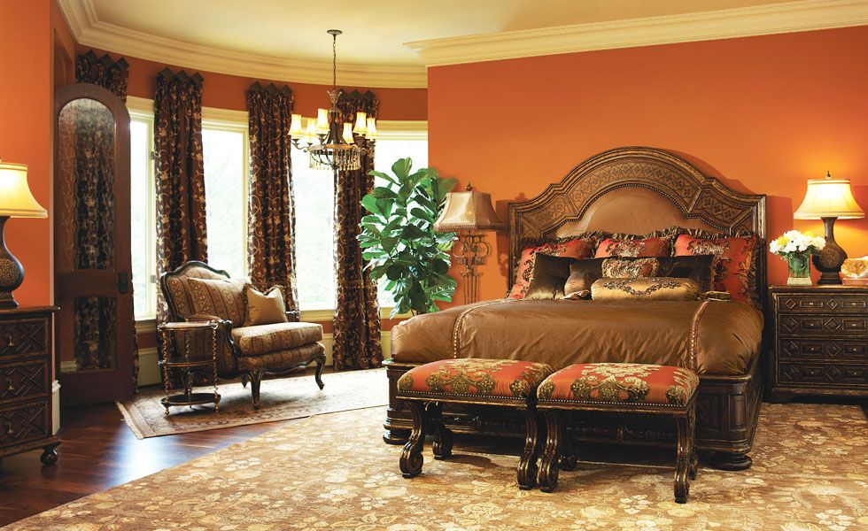 Bedroom Furniture Orange County marge carson bedroom - @ marc pridmore designs orange county