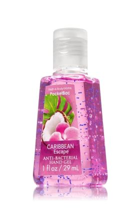 Caribbean Escape Pocketbac Sanitizing Hand Gel Anti Bacterial