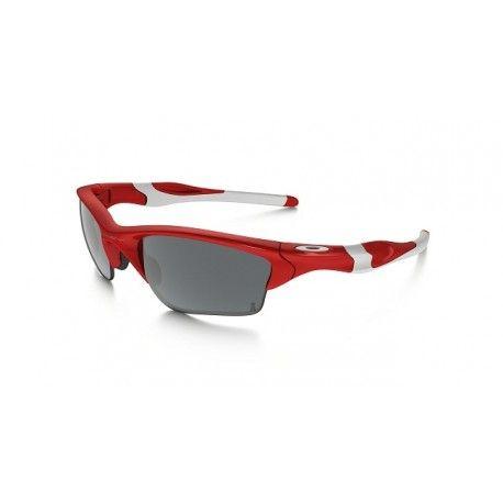 $18 buy oakley flak jacket,Oakley Half Jackect 2.0 XL Red/Black Iridium  Sunglasses