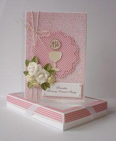 paper craft communion cards | communion card