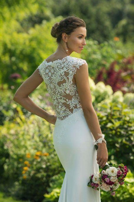 11013 | Kleid hochzeit, Hochzeitskleid elegant ...