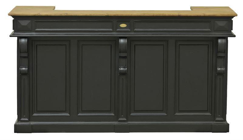 Meuble comptoir bar style glaci re fba07 mobilier comptoirs signature d co bar pinterest - Meuble glaciere bois ...