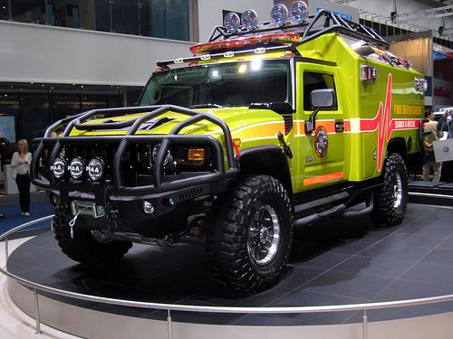 Hummer Ambulance Photos News Reviews Specs Car Listings