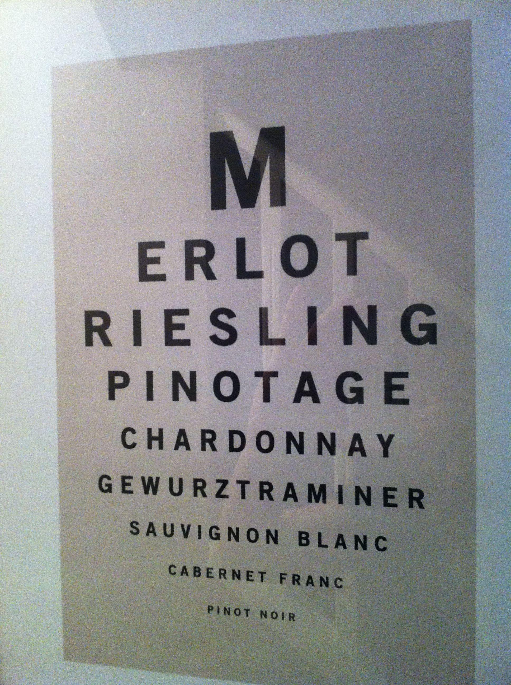 Now thats an eye chart gewurztraminer should have been the last now thats an eye chart gewurztraminer should have been the last line geenschuldenfo Gallery