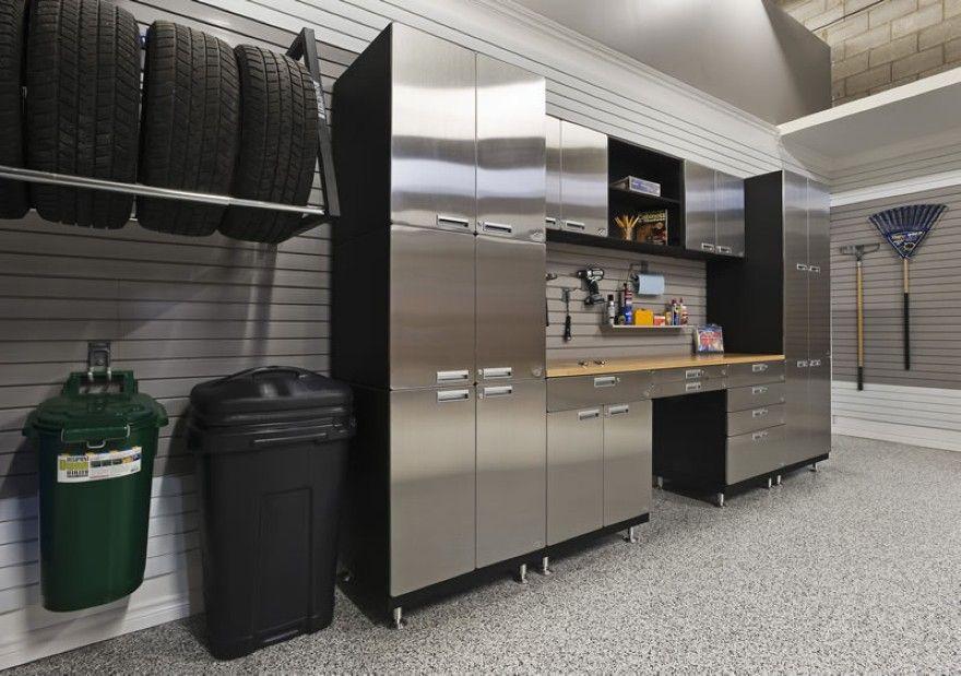 Wood Storage Ideas Planning Your Garage Cabinets