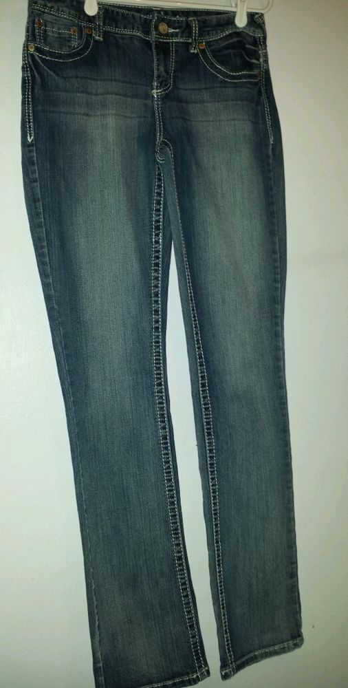 Maurices - woman's,  size 7/8, Jeans.  Quality & Stylish!  #Maurices #StraightLeg