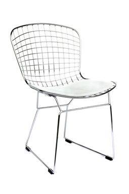 Beau Shuttle Dining Chair   White/Black On HauteLook