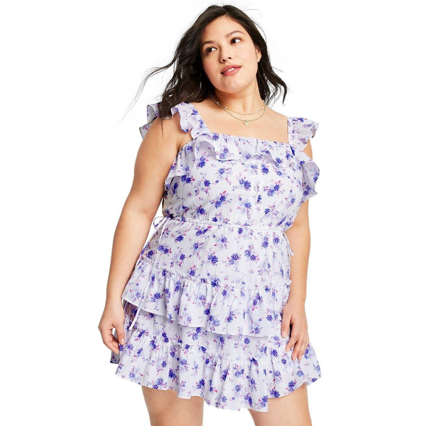 Women S Amalie Tiered Ruffle Dress Loveshackfancy For Target Regular Plus White Blue Sponsored Ruffle Ad D Tiered Ruffle Dress Ruffle Dress Dresses [ 1400 x 1400 Pixel ]