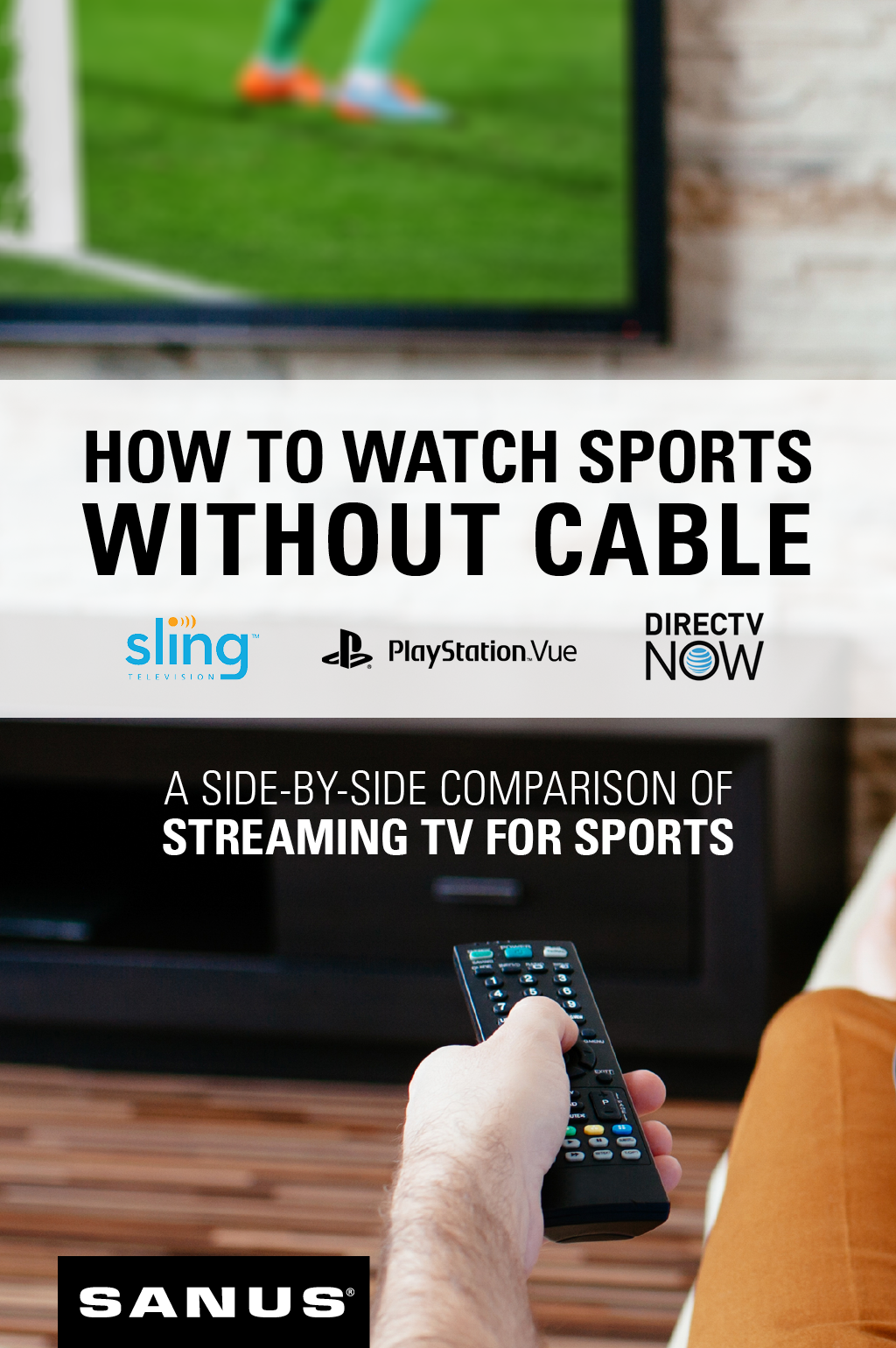 Streaming Tv Options Here S How To Watch Sports Without Cable Streaming Tv Tv Options Sport Watches