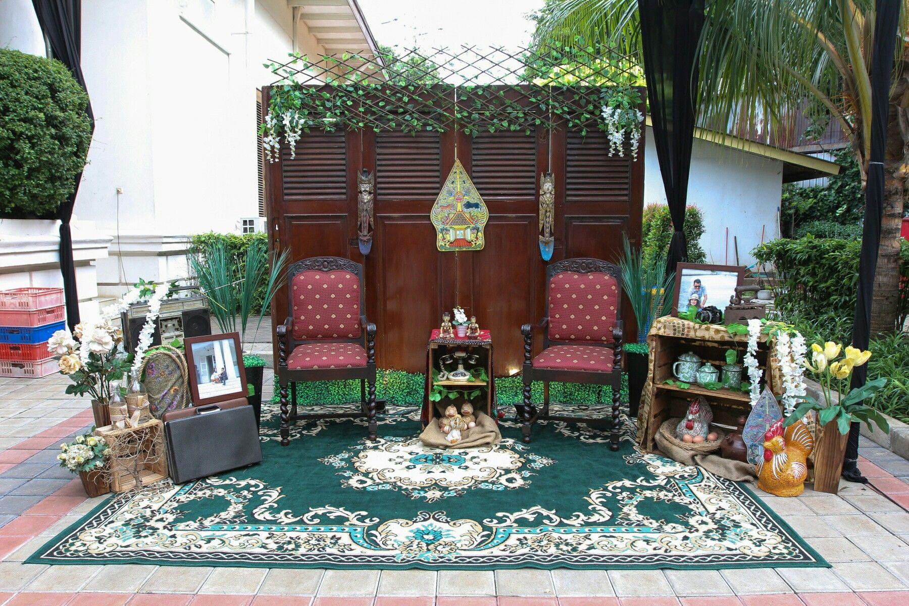 Thematic Decor Dekor Tema Jawa Perkawinan Pernikahan Dekorasi