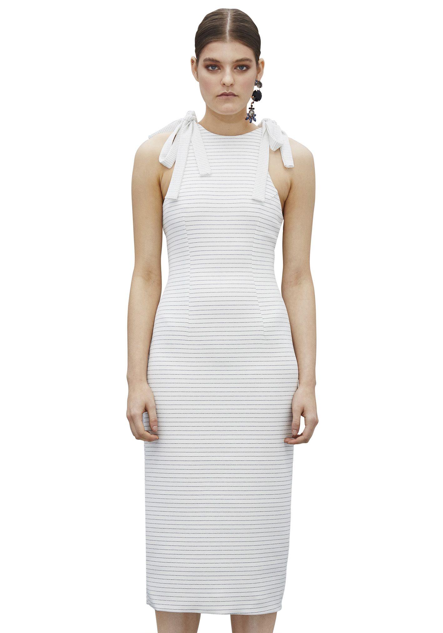 BY JOHNNY  - Ilona Tie Top Tunic Dress