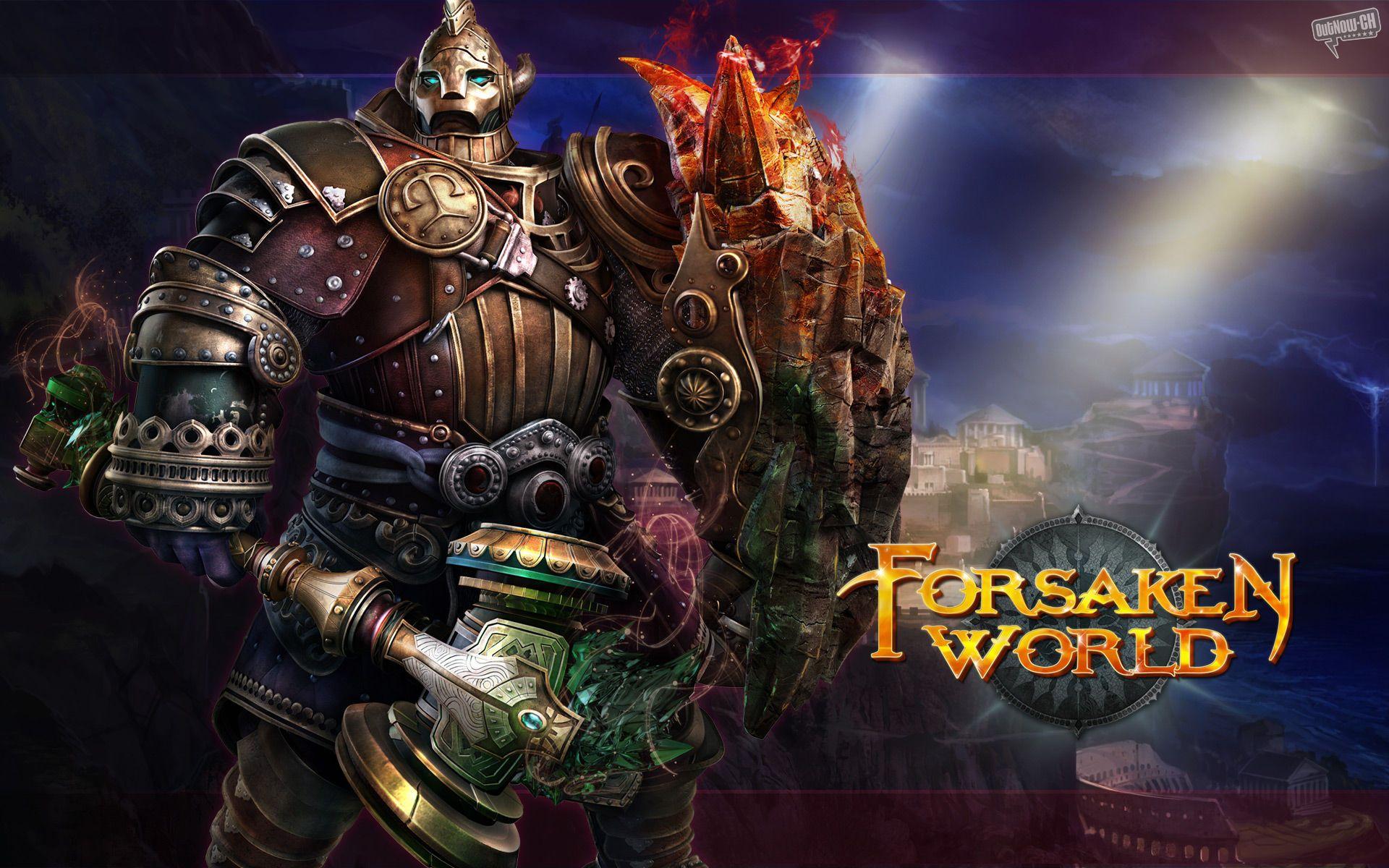 Forsaken World [PC,own] Most popular games, Free mmorpg