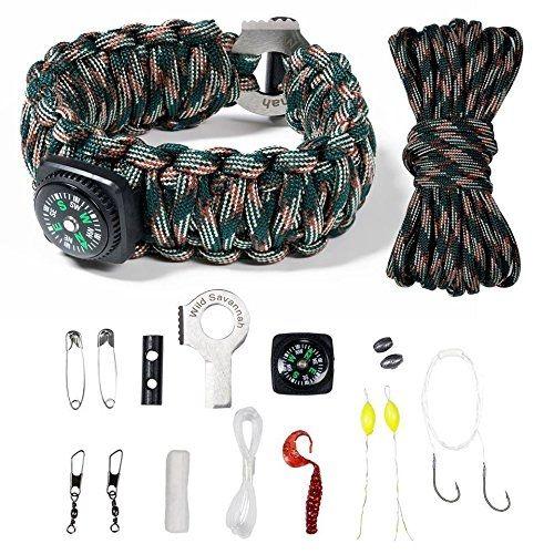 X Plore Gear Emergency Paracord Bracelets Set Of 2 The Ultimate