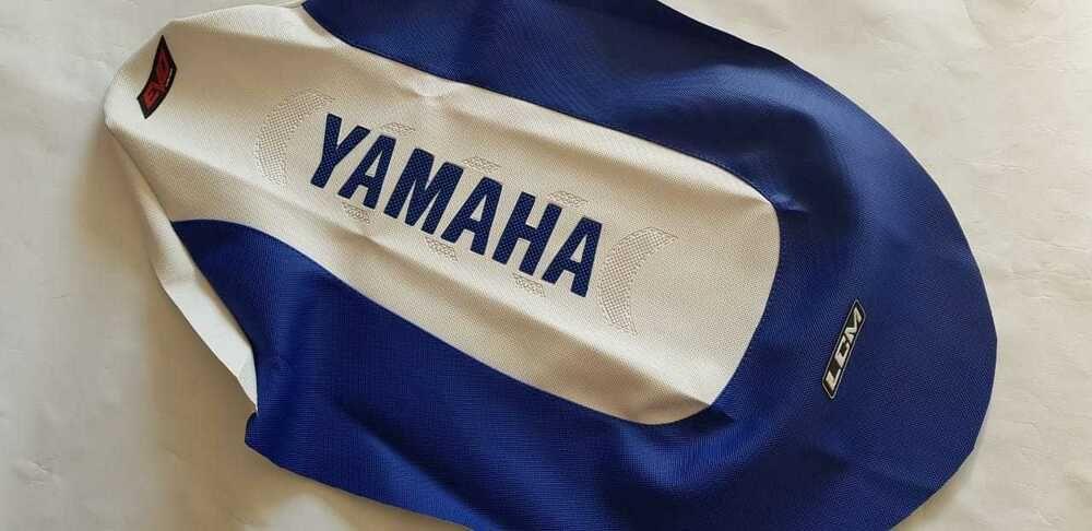 SEAT COVER GRIPPER BLUE,EXCELLENT QUALITY! YAMAHA RAPTOR 250 yfm ULTRA GRIPP