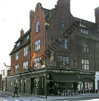 The Albion - Barons Court - good live music