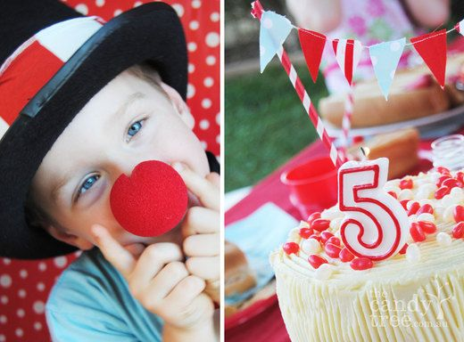 ★Cumple Temático Circo ★ www.unabuenafiesta.com.ar