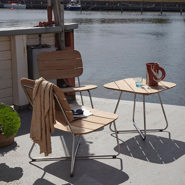 Danish Patio Furniture The Foundry Home Goods Instagram Outdoor Furniture Sets Warm Wood Wooden Planks