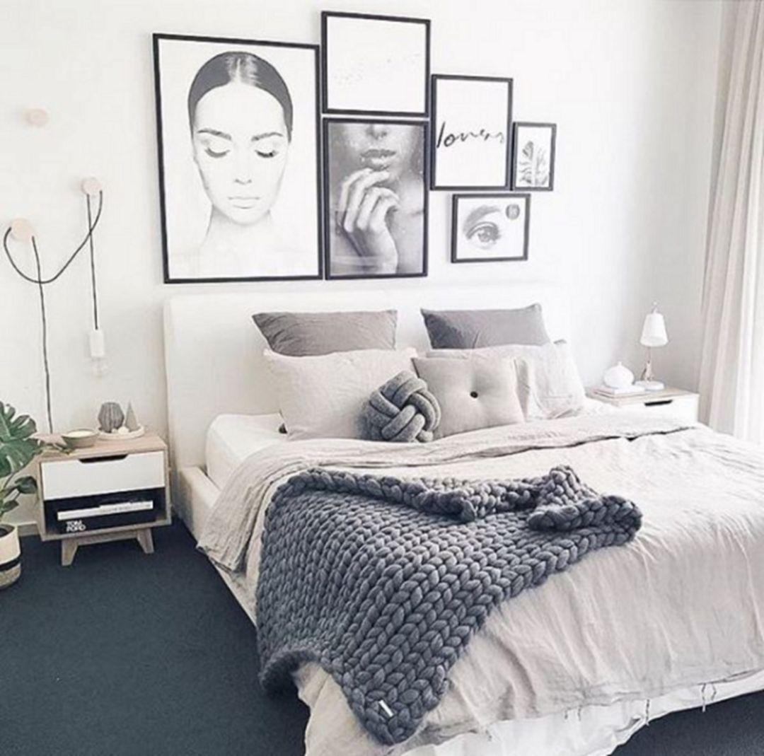 70+ Awesome Minimalist Bedroom Design Ideas | Recamara, Decoración ...