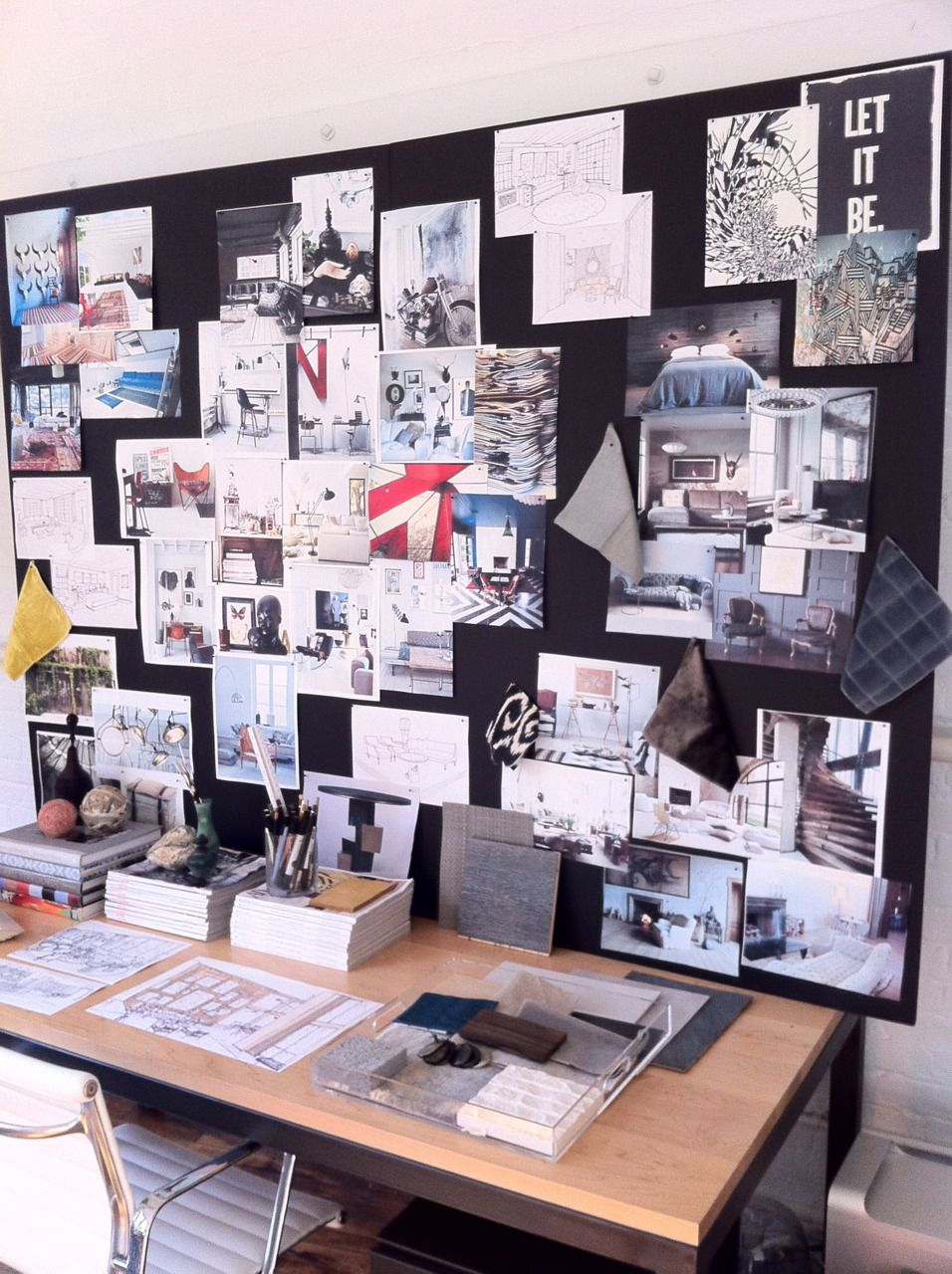 create an inspiration board inspiration mood board on inspiring workspace with a cork wall creating a custom cork board for your home id=54397