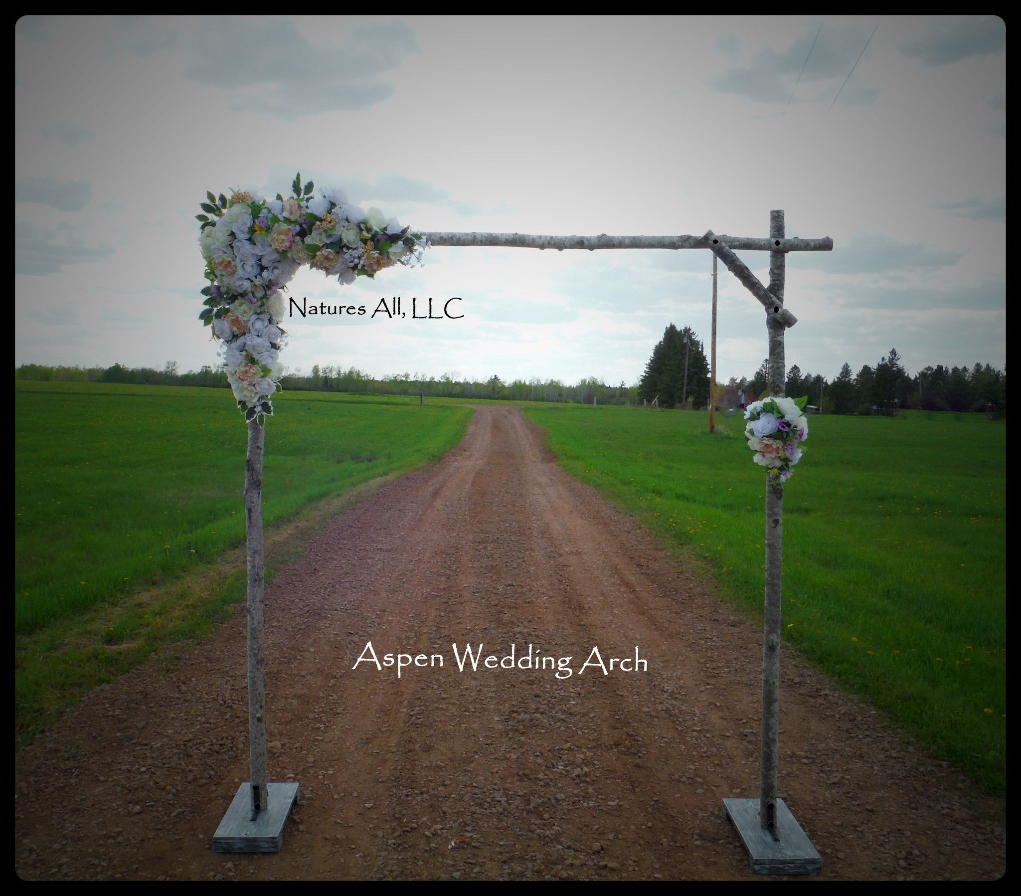 DIY Aspen Wedding Arch Kit Rustic For Indoor Or Outdoor Weddings Shipping
