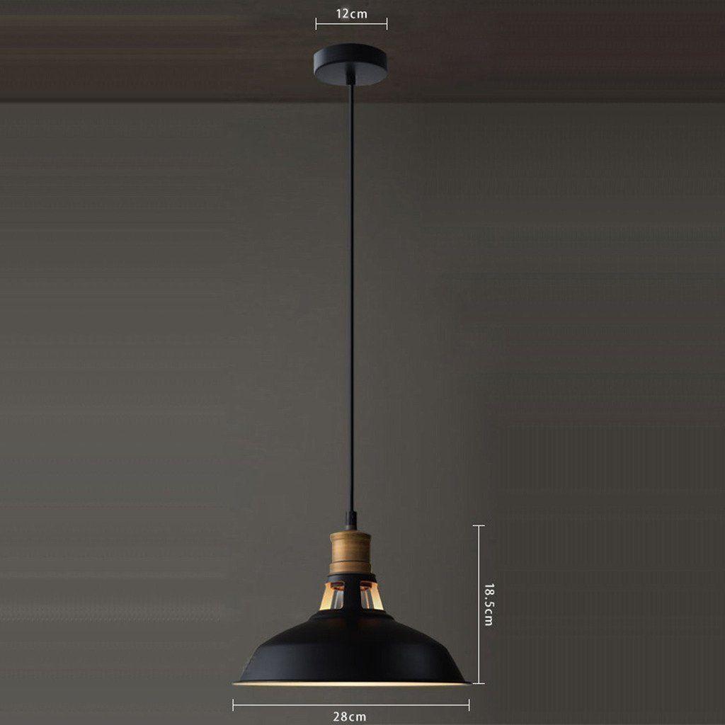 Bright industrial retro edison vintage style hanging pendant lights