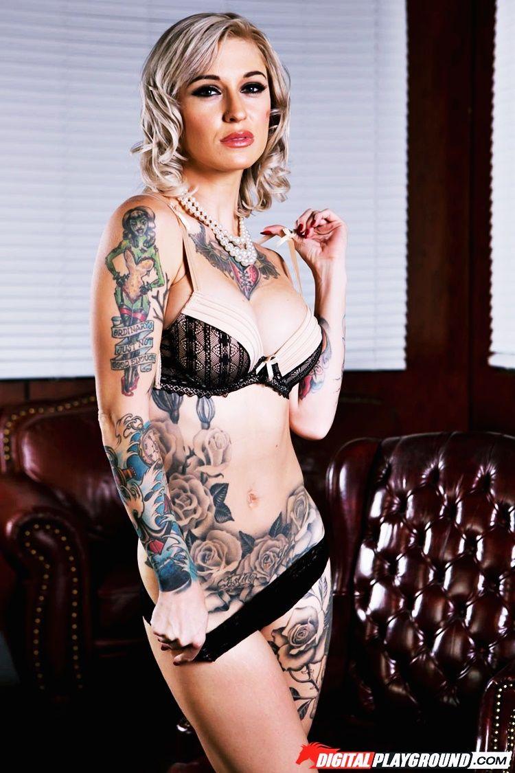 tattooed pornstars