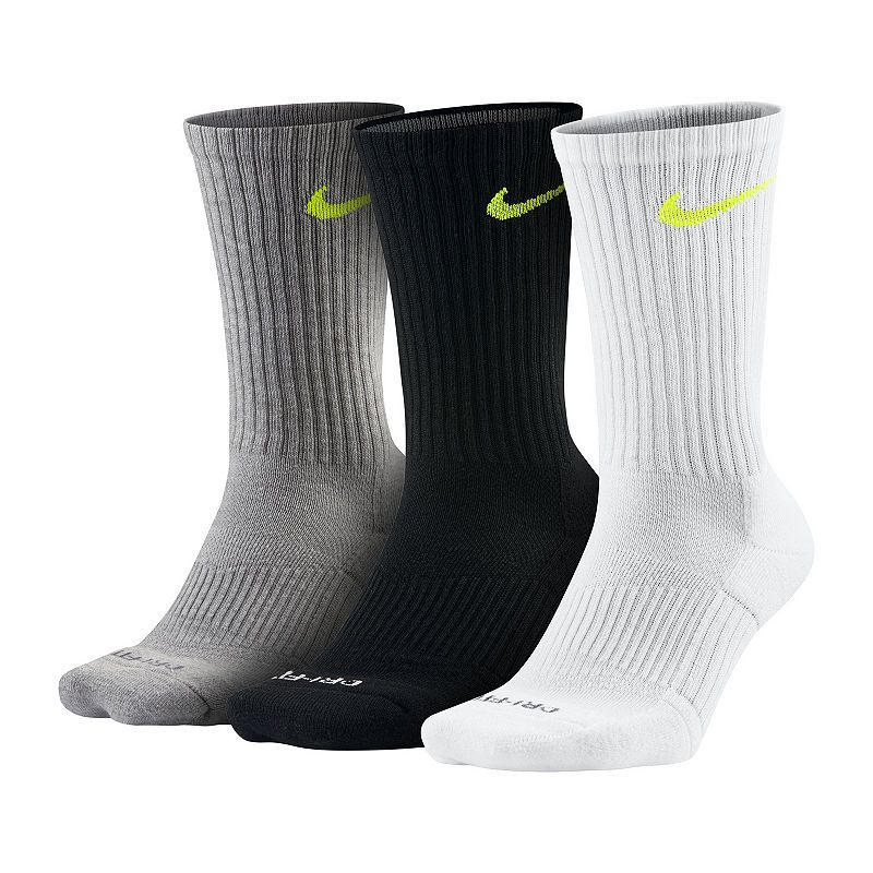 f2e732a1d Nike 3 Pair Crew Socks-Mens | Products | Athletic socks, Crew socks ...