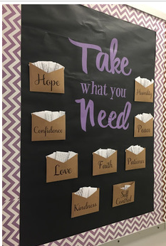 Take What You Need: Motivational Quotes for the Classroom  #elementaryclassroomdecor