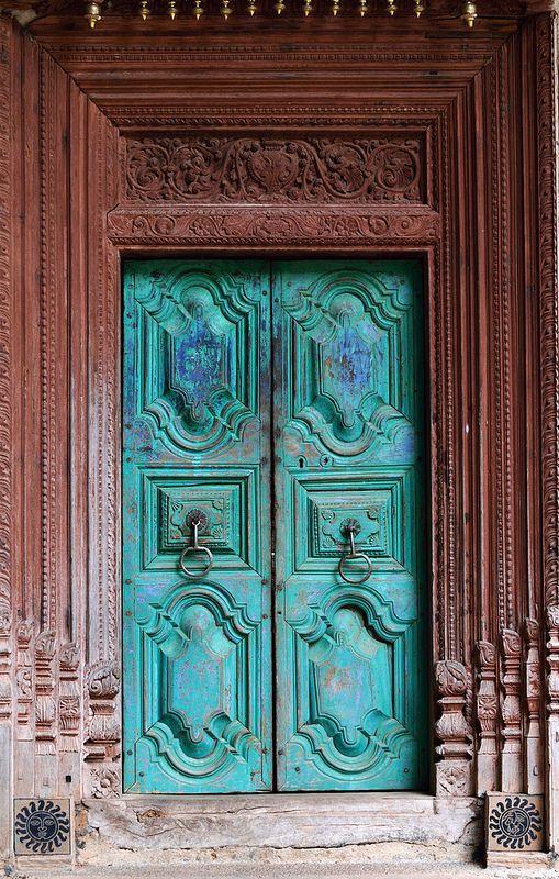 Door To The Samadhi Centre Unique Doors Beautiful Doors Old Doors