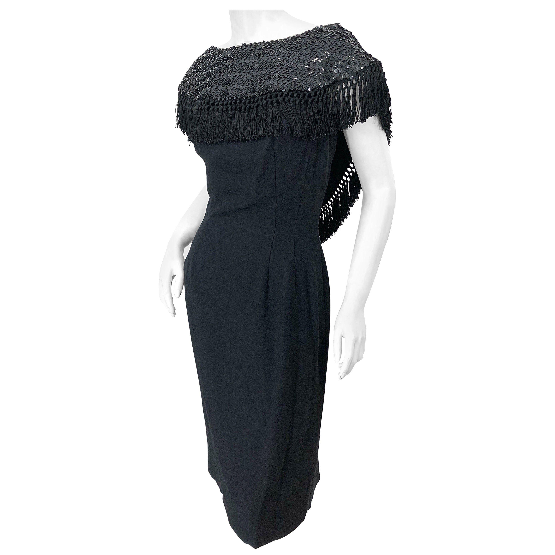 Avant Garde Vintage Black Crushed Velvet Bodycon Rhinestone Cocktail Dress 1940s Evening Dresses Satin Cocktail Dress Day Dresses [ 2867 x 2867 Pixel ]