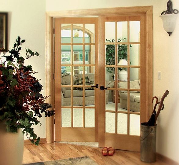 Attrayant Looking For A New Interior Door? Pick Up The 15 Lite Clear Pine French