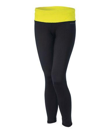 Look at this #zulilyfind! Black & Nightlife Infiniti Tight III Leggings - Women #zulilyfinds