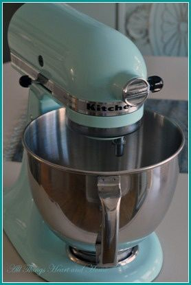Ice Blue Kitchen Aid Kitchen Design Ideas
